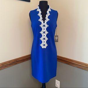 NWT! Vince Camuto Cobalt Blue Sleeveless Dress